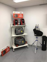Portable Generators and Battery Packs for your Caravan and Camping Needs. Installation can also be booked.